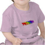 Rainbow Boxer T Shirts