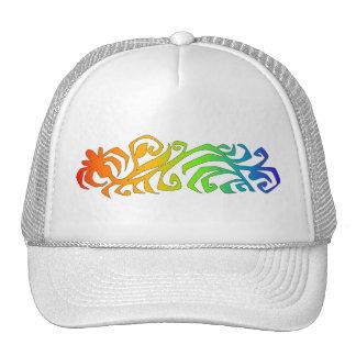 rainbow branch trucker hat
