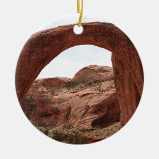 Rainbow Bridge Arch, Utah, USA Christmas Ornament
