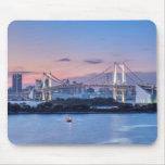 Rainbow Bridge at twilight Mouse Pad