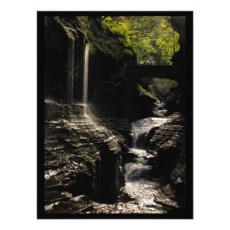 Rainbow Bridge at Watkins Glen Photo Print