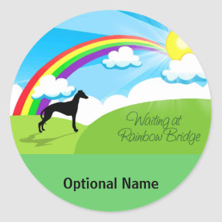 Rainbow Bridge Classic Round Sticker