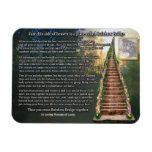 Rainbow Bridge Customizable Photo Magnet