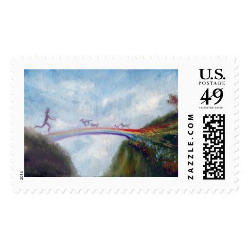 Dog And Cat Postage Stamps