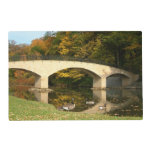 Rainbow Bridge in Fall at Grove City College Placemat