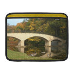 Rainbow Bridge in Fall at Grove City College Sleeve For MacBook Air