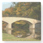 Rainbow Bridge in Fall at Grove City College Stone Coaster
