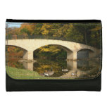 Rainbow Bridge in Fall at Grove City College Wallet For Women