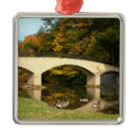 Rainbow Bridge in Fall Ornament