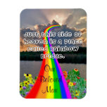 Rainbow bridge Magnet