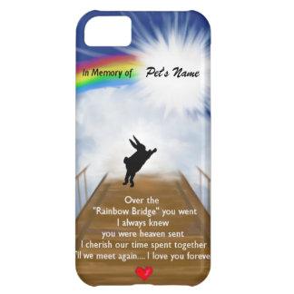 Rainbow Bridge Memorial for Rabbits Cover For iPhone 5C