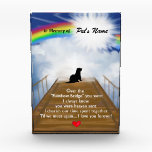 """Rainbow Bridge Memorial Poem for Ferrets Award<br><div class=""""desc"""">Losing a a ferret is never easy... ... .. it&quot;s like losing your best friend and a member of your family. Many BELIEVE when their beloved ferret dies they cross over the Rainbow Bridge. Angel artist and pet lover, Angelina LaFera, illustrated this heartfelt tribute and wrote this memorial poem to...</div>"""