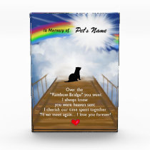 Rainbow Bridge Memorial Poem for Ferrets Award