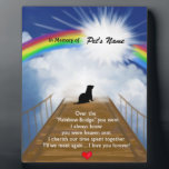 "Rainbow Bridge Memorial Poem for Ferrets Plaque<br><div class=""desc"">Losing a a ferret is never easy... ... .. it&quot;s like losing your best friend and a member of your family. Many BELIEVE when their beloved ferret dies they cross over the Rainbow Bridge. Angel artist and pet lover, Angelina LaFera, illustrated this heartfelt tribute and wrote this memorial poem to...</div>"