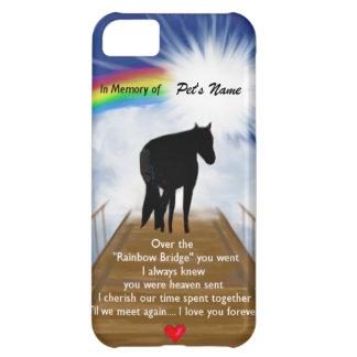 Rainbow Bridge Memorial Poem for Horses iPhone 5C Case