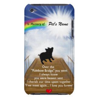 Rainbow Bridge Memorial Poem for Pigs iPod Touch Case