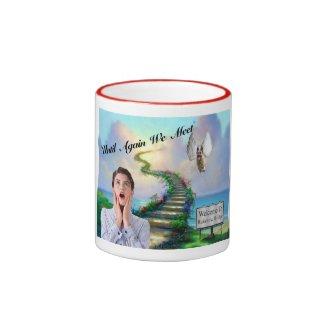 Rainbow Bridge Mug - Until Again We Meet! Ringer Mug
