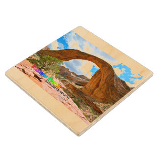 Rainbow Bridge National Monument ~ Utah Wood Coaster