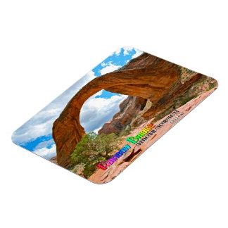 Rainbow Bridge Nat'l Monument Rectangular Photo Magnet