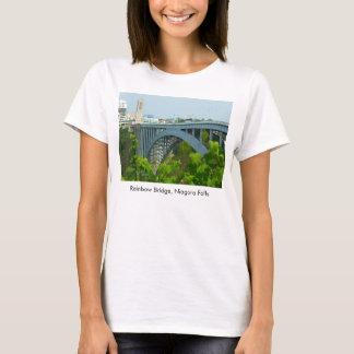 Rainbow Bridge, Niagara Falls girl t-shirt