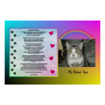 Rainbow Bridge Pet Memorial Print