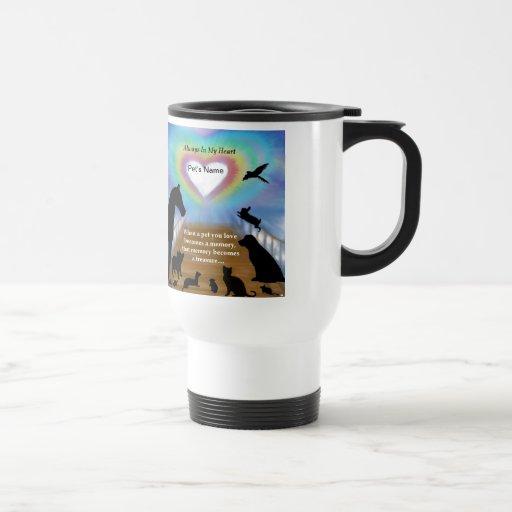 Rainbow Bridge Pets Travel Mug