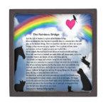 Rainbow Bridge Poem Keepsake Box