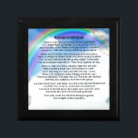 "Rainbow Bridge Poem Keepsake Box<br><div class=""desc"">A great gift for someone who has lost a pet recently.</div>"