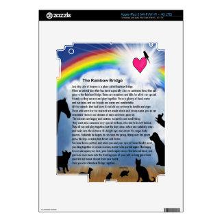 Rainbow Bridge Poem Skin For iPad 3