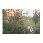 Rainbow Bridge Sunset at Grove City College Placemat