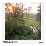 Rainbow Bridge Sunset at Grove City College Wall Sticker