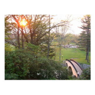 Rainbow Bridge Sunset Postcard