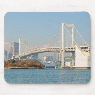 Rainbow Bridge, Tokyo, Japan Mouse Pad