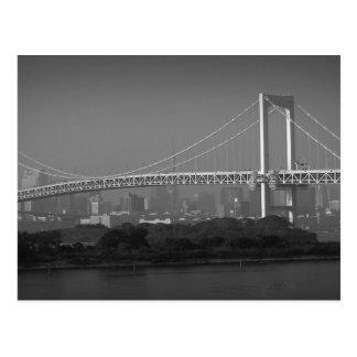 Rainbow Bridge Tokyo Postcard