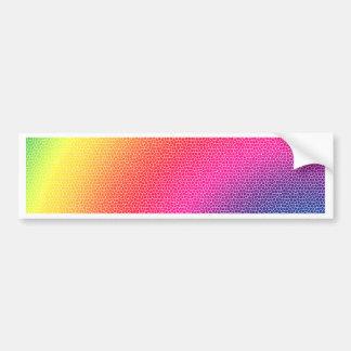 Rainbow Bright Bold Gifts Bumper Sticker