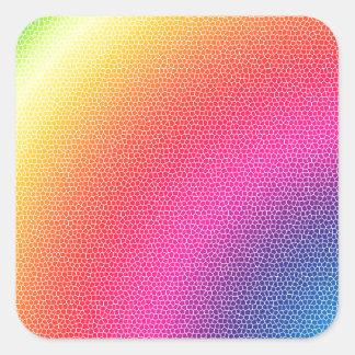 Rainbow Bright Bold Gifts Square Sticker