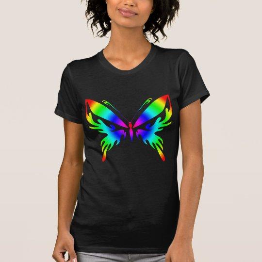 Rainbow Bright Butterfly T-Shirt