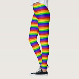 Rainbow Bright Happy Fashion Leggings