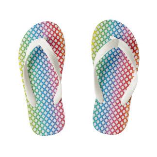 Rainbow Bright Kids Flip Flops
