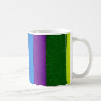Rainbow bright stripes coffee mug