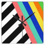 Rainbow Brite Clock