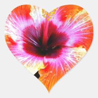 Rainbow Brite Heart Sticker