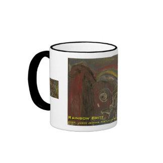 rainbow brite ringer coffee mug