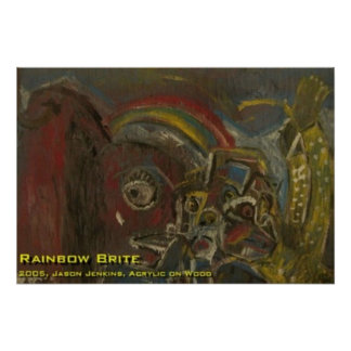 Rainbow Brite Poster