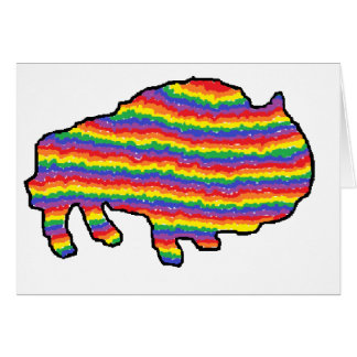rainbow bruce greeting cards