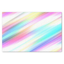 Rainbow Brush Strokes Tissue Paper