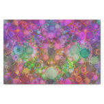 Rainbow Bubble Abstract Tissue Paper at Zazzle