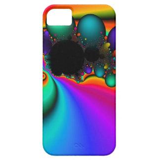 Rainbow Bubble art iphone case