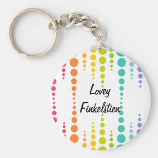 Rainbow Bubble Dots Keychains