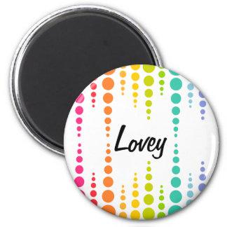 Rainbow Bubble Dots Magnets